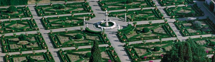 Il giardino della Villa medicea di Castello