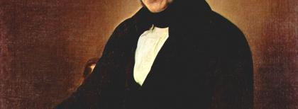 F. Hayez, Ritratto di Alessandro Manzoni, 1841. Fonte: Wikimedia Commons