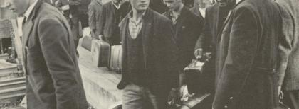 Emigrati italiani all'arrivo in Germania