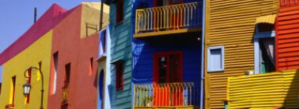 Il quartiere de La Boca, costruito dagli emigranti italiani a Buenos Aires