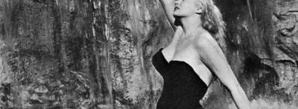 "Anita Ekberg in ""La dolce vita"" (1960) di Fellini. Fonte: Wikipedia"