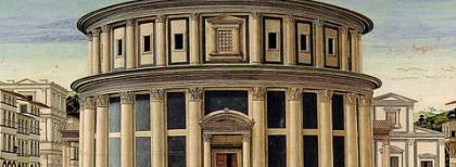La città ideale, 1470 circa. Fonte: Wikimedia Commons