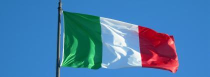 La bandiera italiana