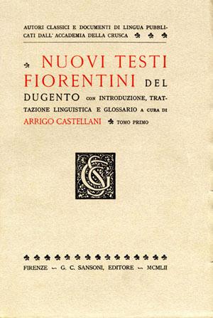 Autori classici e documenti di lingua (II)
