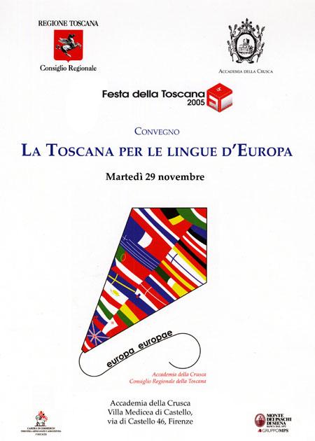 Manifesto di una giornata della Festa della Toscana 2005