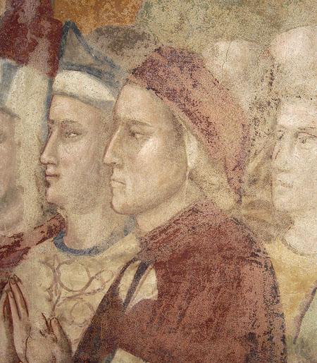 Ritratto di Dante - Cappella della Maddalena