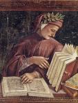 """Signorelli, """"Ritratto di Dante"""" (1500-1504)"""