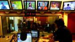 Gli studi di Radio Capital