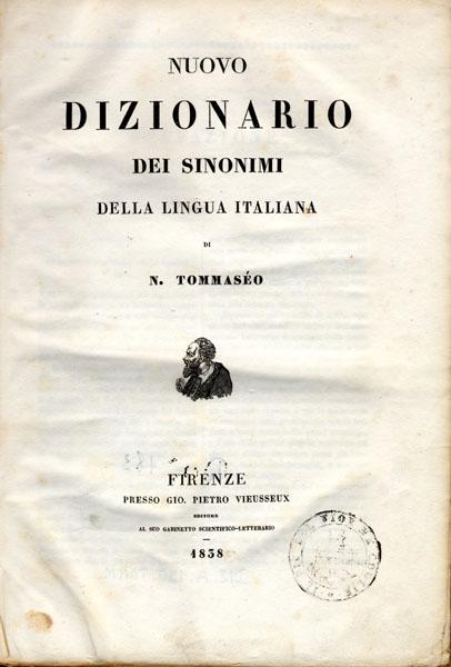 Dizionario dei sinonimi, Tommaseo