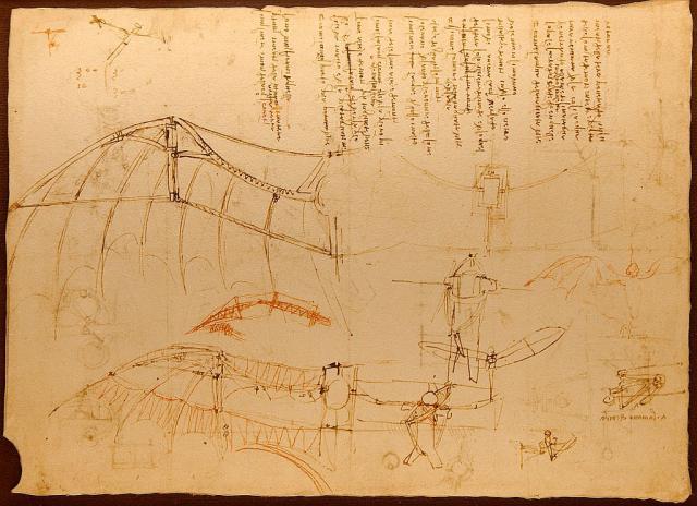 """Leonardo, """"Codice Atlantico"""", 1478-1518"""