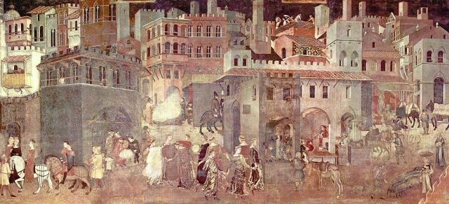 Ambrogio Lorenzetti - L'allegoria del Buon Governo