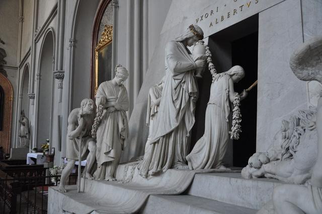 Canova, Monumento funerario a Maria Cristina d'Austria, 1798-1805