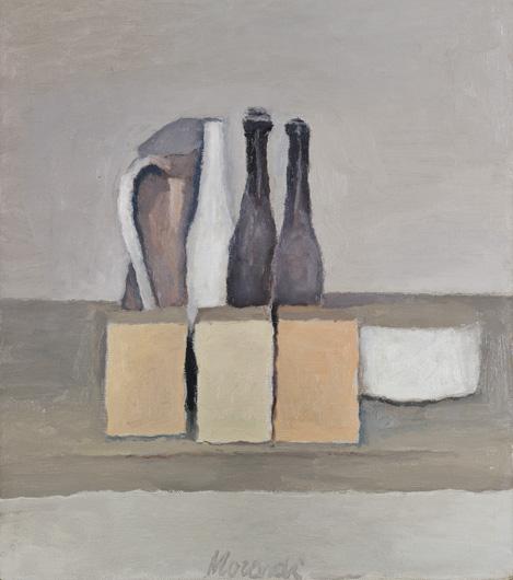 """Giorgio Morandi, """"Natura morta"""", 1956"""
