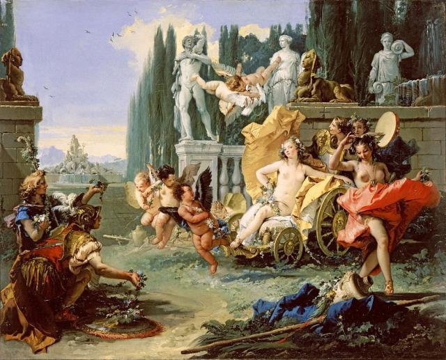 """Tiepolo, """"Trionfo di Flora"""", 1743"""