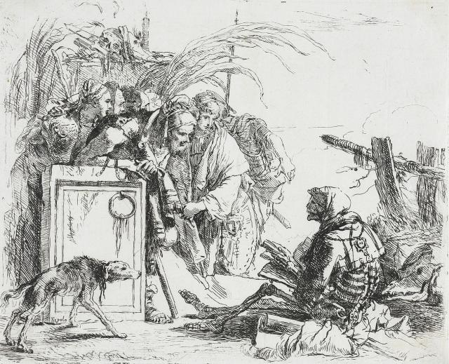 "Tiepolo, ""La morte dà udienza"", 1741-42"