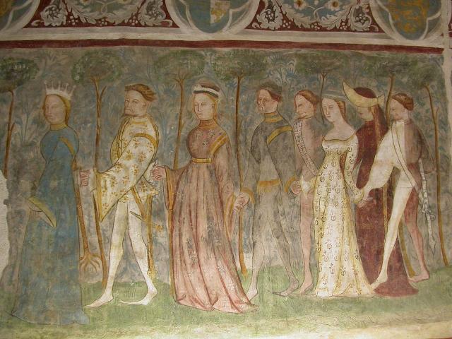 """""""Danza cortese"""", Castel Roncolo, Bolzano"""