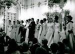 Jole Veneziani, sfilata a Palazzo Pitti, Firenze, 1964