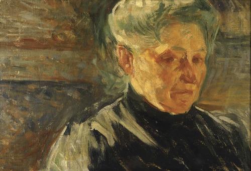 """Boccioni, """"Ritratto della madre"""", 1907"""