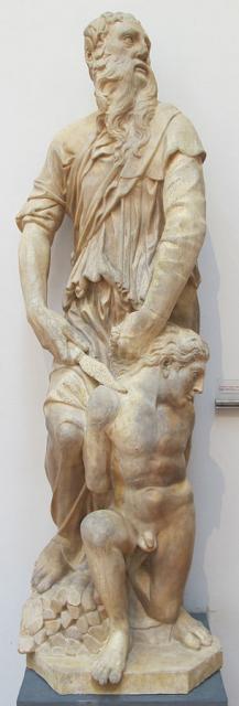 """Donatello, """"Sacrificio di Isacco"""", 1421"""