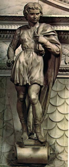 """Michelangelo, """"San Procolo"""", 1494-95"""