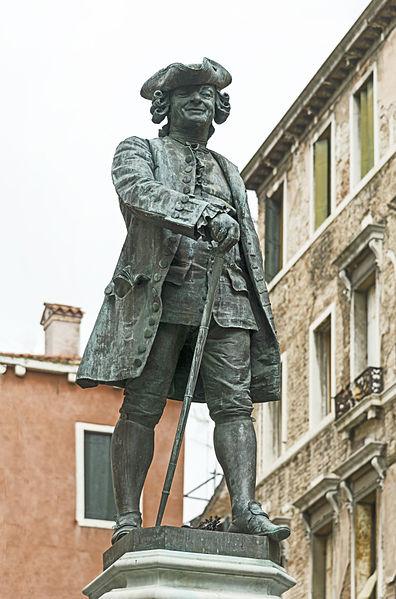 Monumento a Carlo Goldoni, Venezia