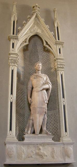 """Donatello, """"San Giorgio"""", 1415-17"""