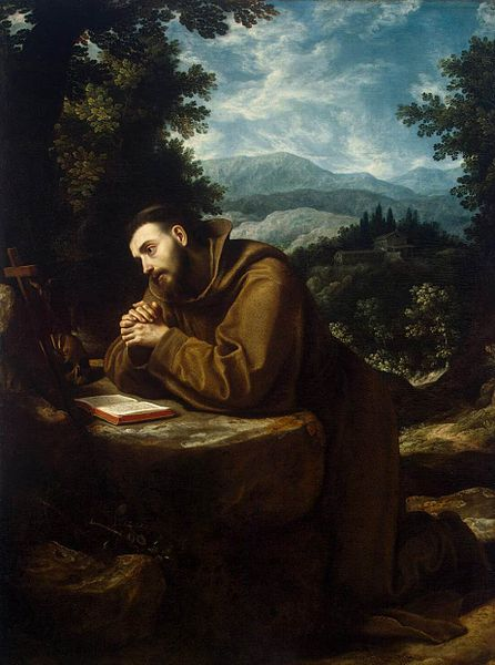 "Cigoli, ""San Francesco d'Assisi"", 1597-1599"