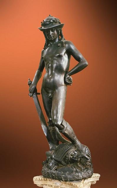 Il David bronzeo di Donatello, 1440 circa
