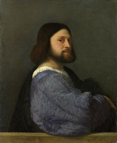 """Tiziano, """"Ritratto di Ariosto"""", 1510"""