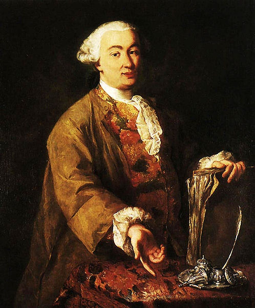 Alessandro Longhi, ritratto di Carlo Goldoni, XVIII sec.