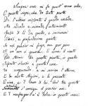 L'infinito, manoscritto autografo (Visso, Archivio comunale)
