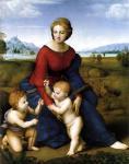 """Raffaello, """"Madonna del Belvedere"""", 1506"""