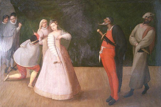 Commedia dell'Arte, la compagnia dei Gelosi