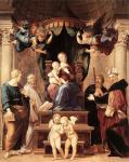 """Raffaello, """"Madonna del baldacchino"""", 1507-08"""
