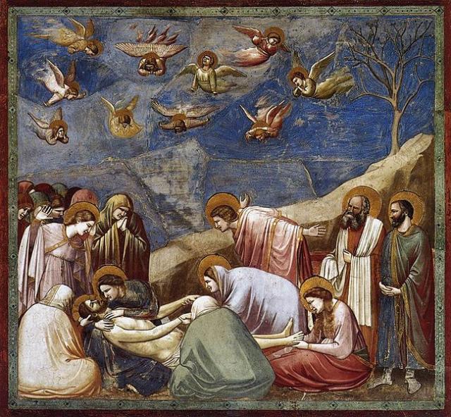 Giotto, affresco per la Cappella degli Scrovegni