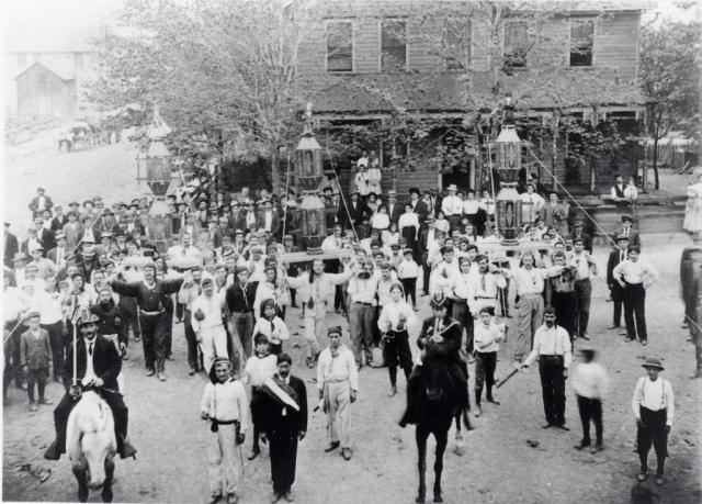 La Corsa dei Ceri a Jessup, USA, nel 1920