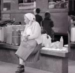 Emigrante meridionale in partenza per Milano