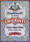 Prima di partire: pubblicazione per gli emigranti italiani a San Paolo del Brasile, 1886