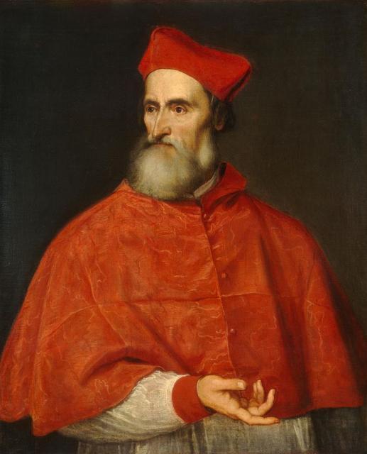 """Tiziano, """"Ritratto di Pietro Bembo"""", 1540"""