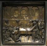 """Donatello, """"Banchetto di Erode"""", 1423-27"""