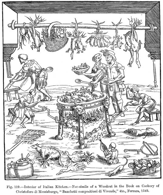 """Cristoforo da Messisbugo, """"Banchetti"""", 1549"""