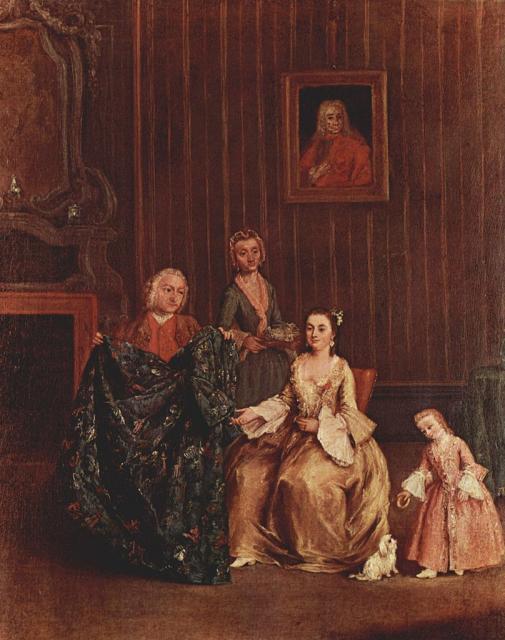 """Pietro Longhi, """"Il sarto"""", 1741"""