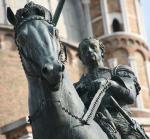 Donatello, monumento equestre al Gattamelata, 1446-53