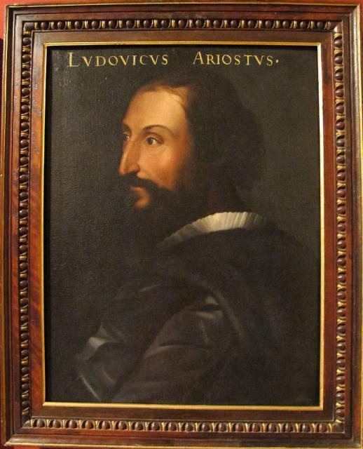 Ritratto di Ariosto - Cristofano dell'Altissimo, ante 1568