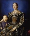 """Bronzino, """"Eleonora di Toledo col figlio Giovanni de' Medici"""""""