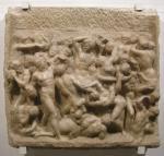 """Michelangelo, """"Battaglia dei centauri"""", 1492"""