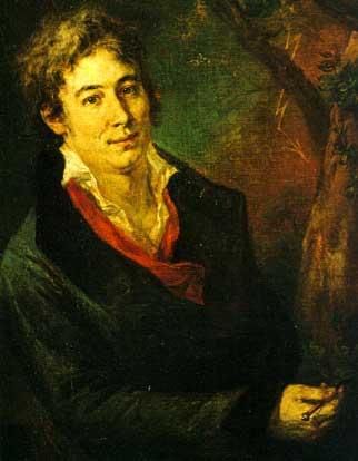 Andrea Appiani: Ritratto di Ugo Foscolo, 1801-1802