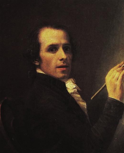 """Antonio Canova, """"Autoritratto"""", 1792"""
