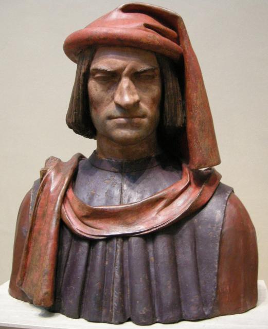 Busto di Lorenzo il Magnifico