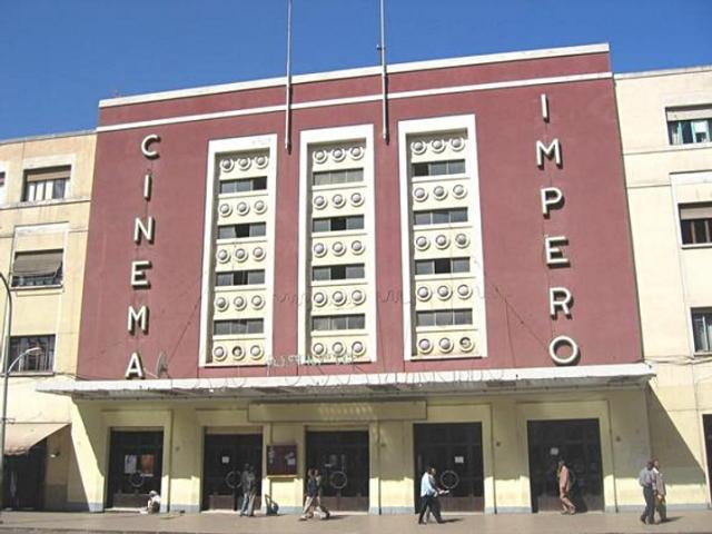 Il Cinema Impero di Asmara, Eritrea
